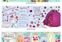 Food illustration - Ohn Mar Win Skillshare