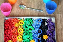 Rainbow Colour Pasta