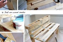 DIY - Pallet furniture