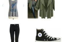 Clothes↓ / Outfit ideas for the hipster/punk