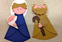 christmas crafts from muffin paper