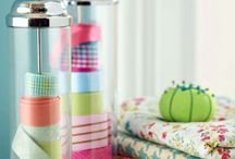 CRAFT ROOM envy ... and storage ideas too / by Andrea Seligman
