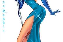 jessica blue dress