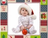 Idées cadeaux déco Noël originales / Chaussettes de Noël, hottes de Noël personnalisées avec le prénom de l'enfant, décos inédites,...