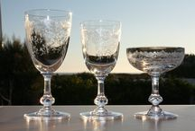 Cristal Saint-Louis - St Louis crystal / Articles en cristal de St-Louis vendus par Antiques20ème