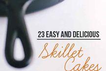 skillet cakes