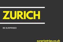 ZÜRICH / Fun tips, tricks and trips should you find yourself in Switzerland's largest city, Zürich. Would you like your next trip abroad to be a complete surprise? Find out more about our latest project at http://surprisetrips.co.uk/