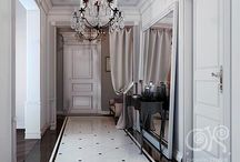 Long Corridor Ceiling Decor