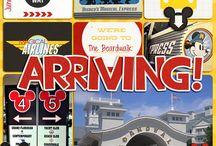 Digital Scrapbooking - Disney World