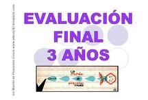 Evaluación Final 3años