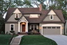 exterior colors / by Melissa (Ohhowsweet.com)