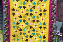 Two Block & Chain Quilts / designing with two block quilts