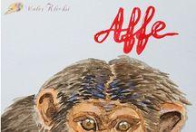 MalerKlecksi-Tier-ABC / Ein Tier-ABC, bei dem jeder seine eigenen Pins pinnen kann, schreibt mir einfach eine Nachricht, wenn ihr mitmachen wollt.