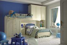 la camera da letto per i bimbi / camere da letto in stile in varie finiture e soluzioni, per avere tutto al giusto posto