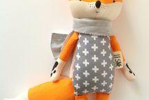 игрушки лисы
