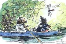 "the wind in the willows / ""there is nothing — absolutely nothing — half so much worth doing as simply messing about in boats"""