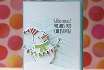 Stamping -- Christmas / Cards and other items made with Christmas stamps