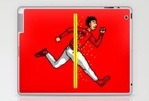 Laptop & iPad Skin / New Pad, iPad2 / by Helmi Himawan