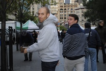 """""""Pret Employees help rescue food from the Union Square Greenmarket in NYC"""" / by Pret USA"""