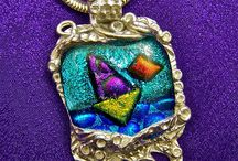 Hayden Brook Studios / #Dichroic_Glass and #Fused_Glass