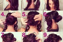 fryzury zrób to sama