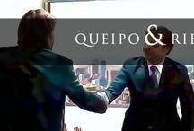 Queipo & Riego Despacho de Abogados / LOS ABOGADOS QUEIPO & RIEGO ENTENDEMOS QUE, EN EL MUNDO ACTUAL, HIPERCOMPETITIVO; los abogados debemos ejercer no sólo como juristas, sino también como asesores de negocios, aportando valor añadido a la empresa. Nuestra formación, no sólo en derecho sino tambien en management, nuestra experiencia y actitudes, van en esa línea: ayudar a la empresa a ser mas competitiva y a internacionalizarse http://www.queipoyriego.com/  / by Impronta Comunicación