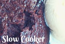 Slow cooker sweets