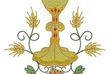 bordados religiosos