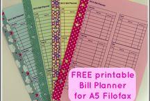 Filofax planner