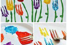 tvoření s dětmi-jaro