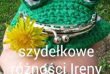 Szydelkowa portmonetka żaba. Faceoook-Szydełkowe Różności Ireny Crochet / Szydełkowe różności.