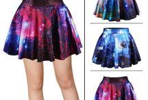 Galaxy sukně