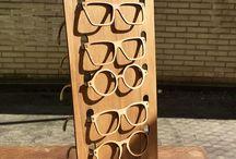 displays de óculos