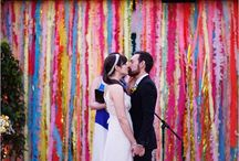 Colorful wedding / Cant decide what color you want,why not pic all of them?! This kind of theme is perfect if you are playful as a couple.