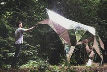 Wystrój wnętrz dodatki / Od sculpture po lampy itp.