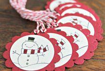 Scrap - Etiquettes / Tags - Sketch et inspirations / Inspirations et techniques pour la réalisation de tags et étiquettes cadeaux