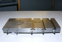 T-slotted table