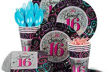Sweet Sixteen Party Ideas / Sweet 16s only happen once so make sure you plan a celebration that will be remembered for a lifetime!