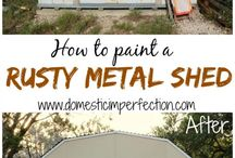 painting shed