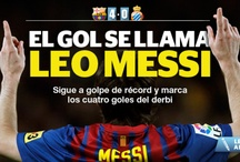 Futbol / All about my favorite teams and the best player in the world: Leo Messi
