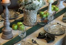 Tables decorating ideas / by Tammy Rice