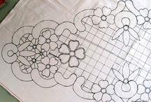 Dantel angles / MACRAME' RUMENO - POINT LACE: MODELLI per MACRAME' RUMENO (DISEGNI)