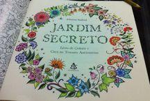 Meu Jardim Secreto / Colorindo sem estresse
