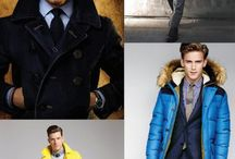 Men's Winter Fashion  / Menswear fashion inspiration for winter wear  / by Bows-N-Ties .com