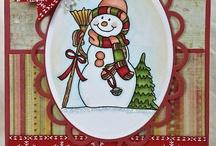 Papercraft - Snowman Cards