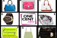 TAKE A CHIC BREAK TONIGHT ON ONECENTCHIC at 10 PM ET / Bags and Watches by Calvin Klein, Dooney & Bourke, Milly, Marc by Marc Jacobs, Rebecca Minkoff, Kate Spade and Michael Kors