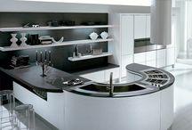 Modern Kitchen Cabinet / pediniLA kitchen design