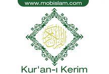 Kur'an-ı Kerim / Kur'an-ı Kerim Nedir?  Kur'an-ı Kerim, ayetleri Allah tarafından Cebrail adındaki melek aracılığıyla İslam peygamberi Muhammed'e vahiyler halinde indirilen bir kutsal kitaptır.  Peygamber efendimiz Hazret-i Muhammed (s.a.s.), kendisine peygamberlik görevi verilmeden önce bir süre Mekke yakınında bulunan Hira dağında yer alan bir mağaraya çekilir, Allah'ın büyüklüğünü düşünmekle meşgul olmaktaydı.  http://www.mobislam.com/kuran-i-kerim-android-uygulamasi-cikti/
