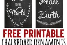 Free printables / by Brittany Nielsen