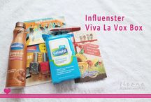 Influenster Viva La Vox Box / Products sent as complimentary for testing purposes from Influenster.